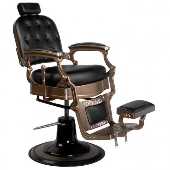 Barber chair Ernesto Old Black - 0125379