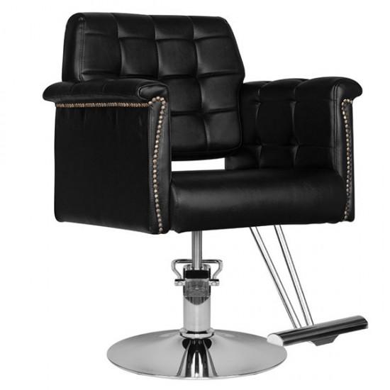 Professional hair salon chair HS48 black - 0126374
