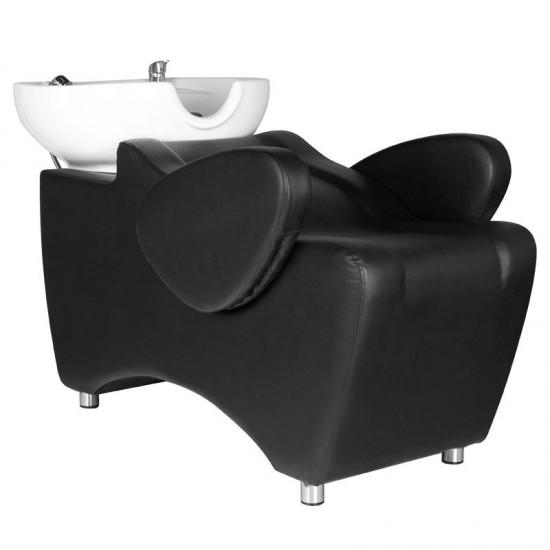 Professional Hair Salon Wash Bath HSB46 Black - 0126391