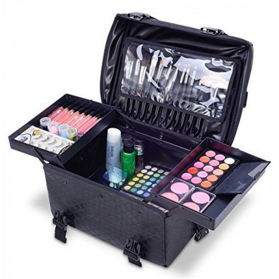 Kiota - professional beauty case 3 in 1 Leather Collection High Quality - 5830301