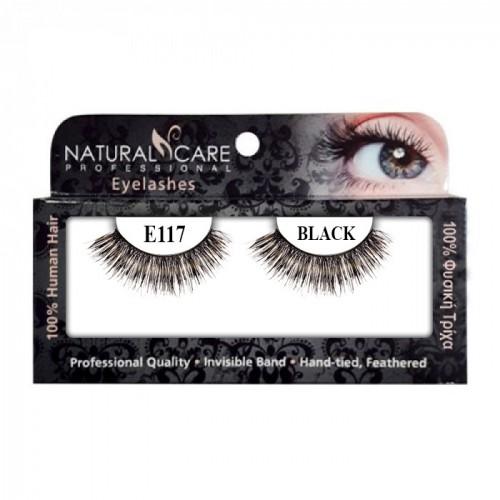 Professional eyelashes NC Pro 117 black- 1601602