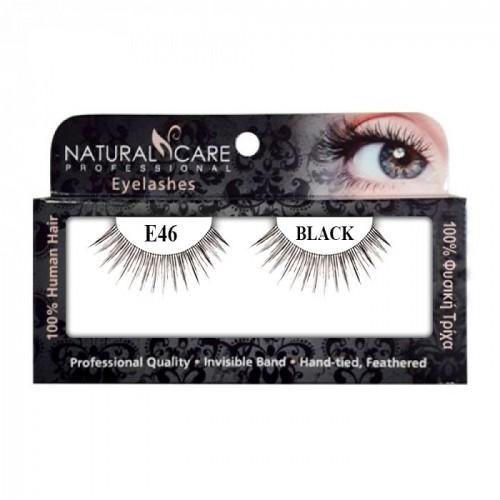 Professional eyelashes NC Pro 46 black - 1602021
