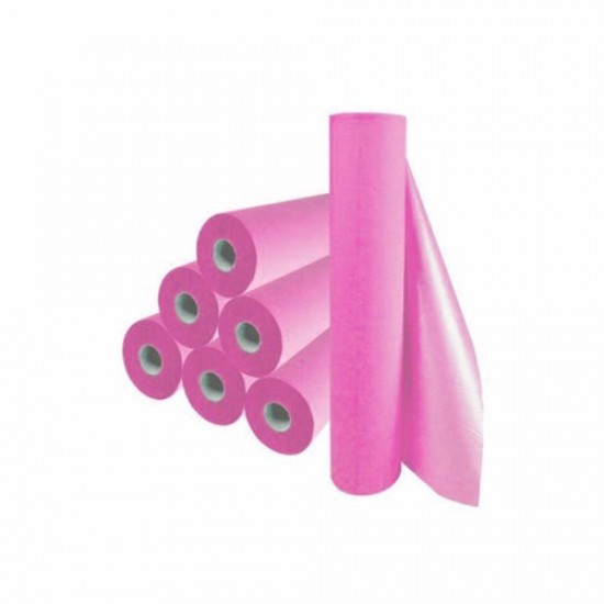 Bed roll paper pink - 1080252