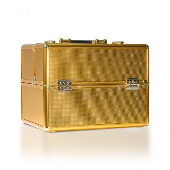 Professional beauty case Classic Plain Gold - 3280226